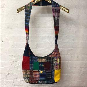 Handbags - Fabric Crossbody Bag